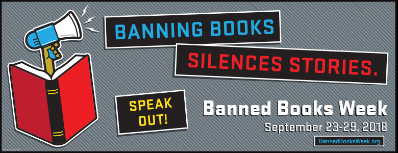 Hash Tag Banned Books Week banner