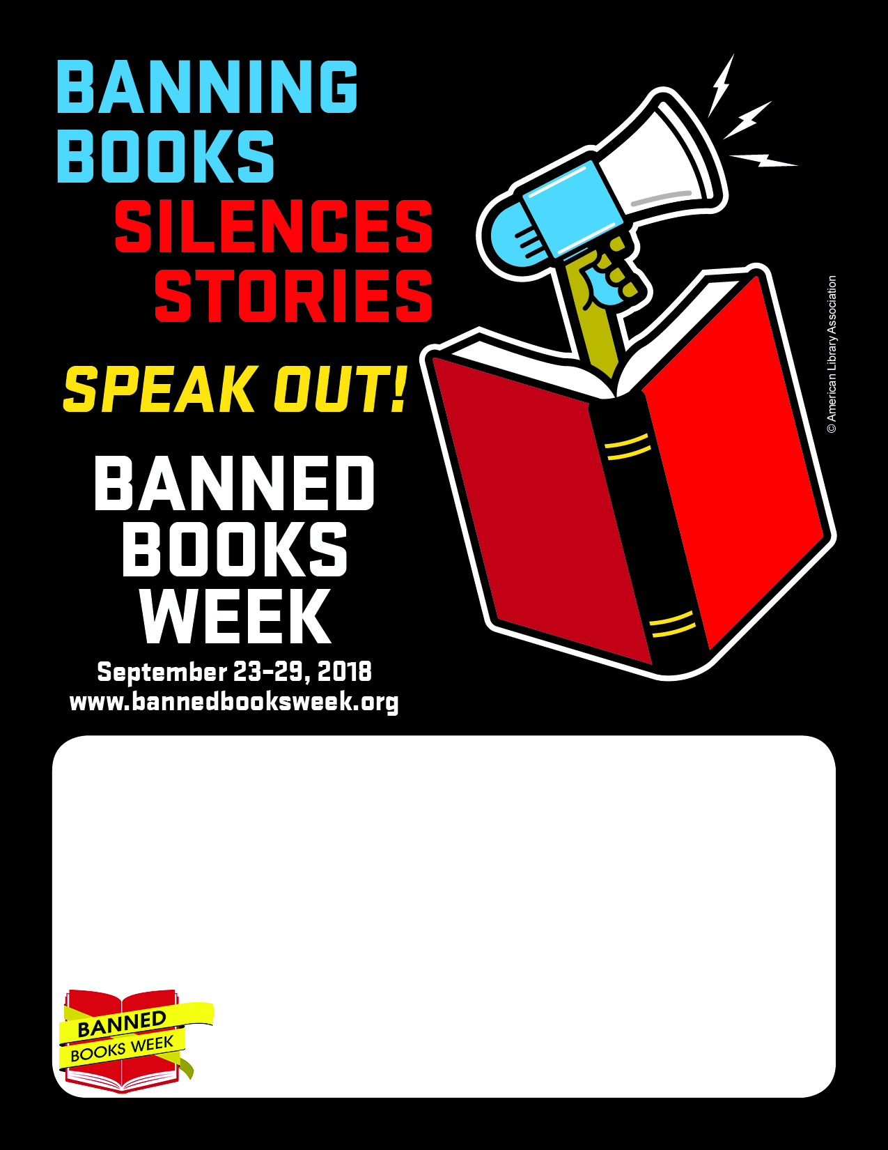 Promotional Tools Banned Books Week