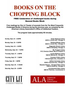Books on the Chopping Block September 23   2 00 pm CDT aaaa596483b5b