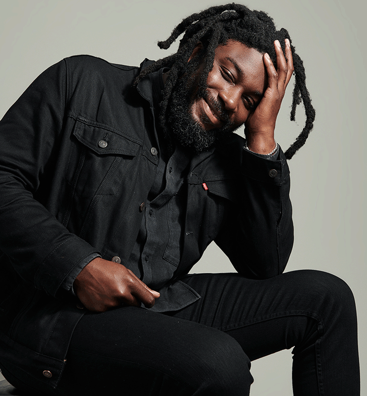 Photograph of Jason Reynolds